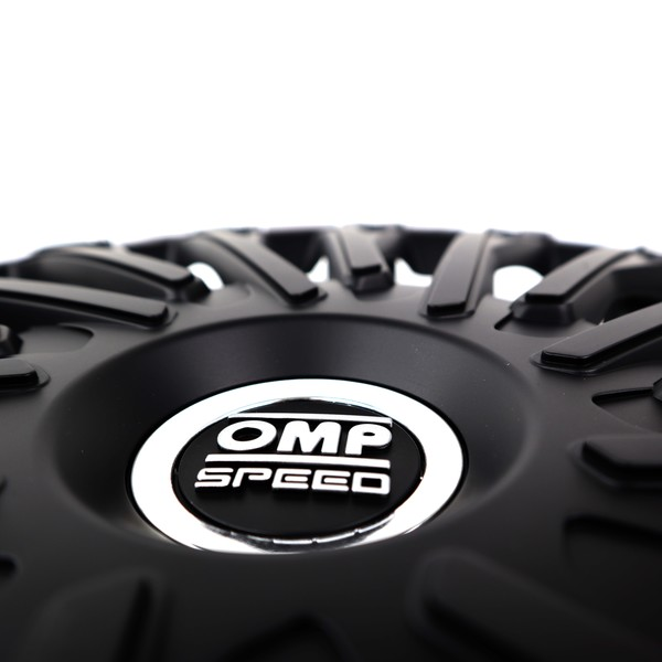 """Tapacubos OMP Stinger Speed Preto 16"""" (4 uds)"""
