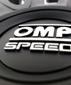 "Tapacubos OMP Magnum Speed Preto 15"" (4 uds)"