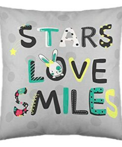 Capa de travesseiro Cool Kids Peace (50 x 50 cm)