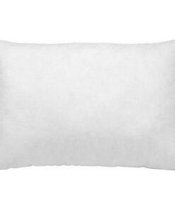 Capa de almofada Naturals Branco (45 x 110 cm)
