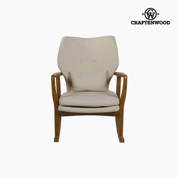 Cadeira de baloiço Madeira de olmo (88 x 53 x 54 cm) by Craftenwood