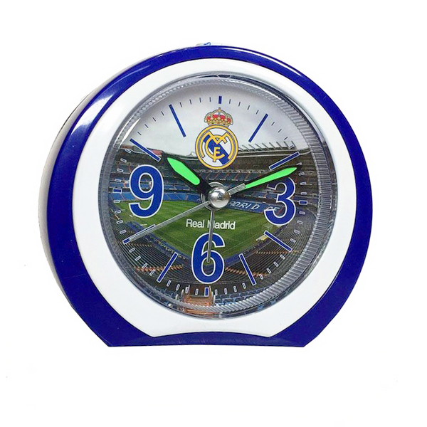 Relógio-Despertador Real Madrid C.F. Redondo
