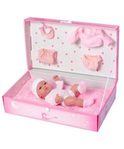 Nenuco com Acessórios Rauber (25 cm) Cor de rosa
