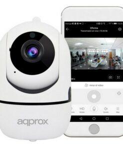 Câmara IP approx! APPIP360HDPRO 1080 px Branco