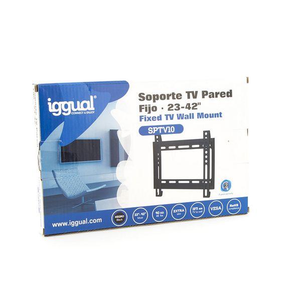 "Suporte TV Fixo iggual SPTV10 IGG314555 23""-42"" Preto"