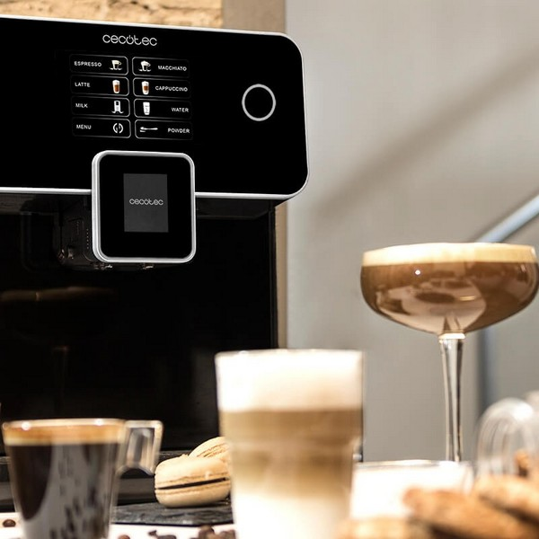 Cafeteira Elétrica Cecotec Power Matic-ccino 8000 Touch 1,7 L 1500W Preto
