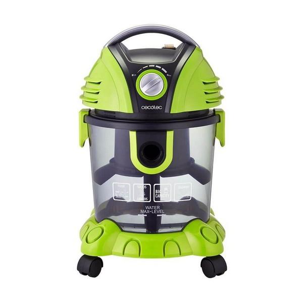 Aspirador sem Saco Cecotec Conga Wet&Dry 1400W 15L Verde Preto