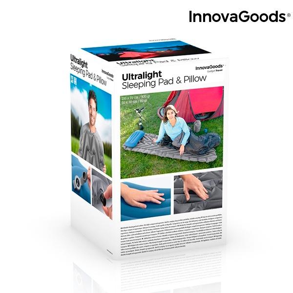 Colchão e Almofada Insufláveis Ultralight InnovaGoods