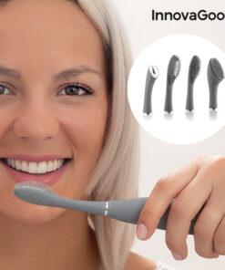 Escova de Dentes Sónica de Silicone com Acessórios Klinfor InnovaGoods