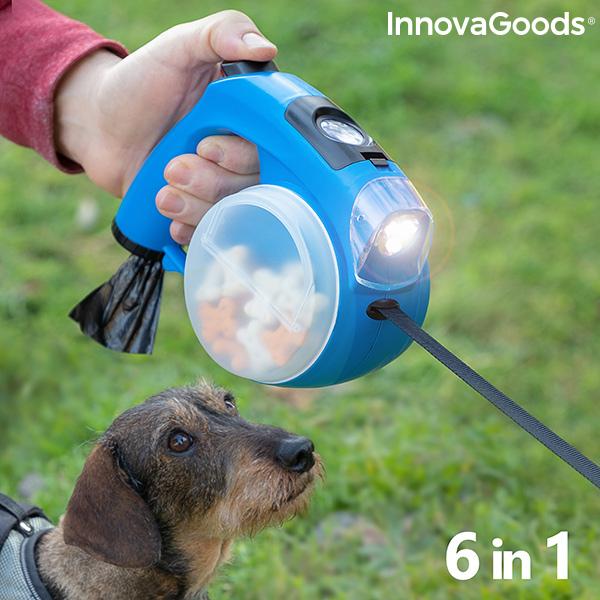 Trela Retrátil para Cães 6 em 1 Compet InnovaGoods