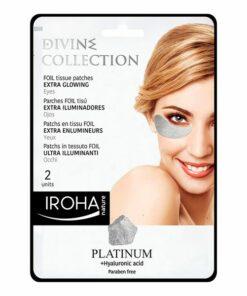 Patch para o Contorno dos Olhos Platinum Iroha (2 uds)