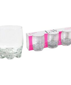 Conjunto de Copos LAV Adora 290 ml Cristal (Pack de 3)