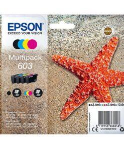 Cartucho de Tinta Original (pack de 4) Epson 603 Multipack