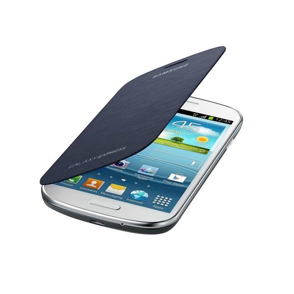 Capa tipo Livro para o Telemóvel Samsung Galaxy Express I8730 Azul