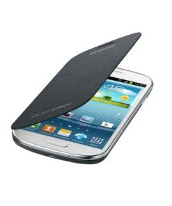 Capa tipo Livro para o Telemóvel Samsung Galaxy Express I8730 Cinzento