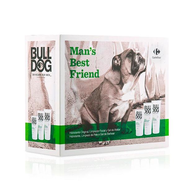 Kit de higiene pessoal para homens Bull Dog