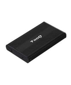 "Caixa externa TooQ TQE-2510B HD 2.5"" SATA USB 2.0 Preto"