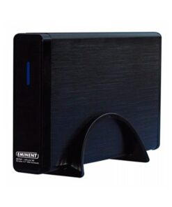 """Caixa externa Eminent EW7047 2.5"""" - 3.5"""" IDE / SATA USB 2.0 Preto"""