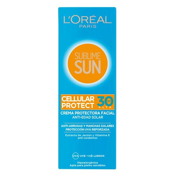 Creme Solar Sublime Sun L'Oreal Make Up Spf 30 (75 ml)
