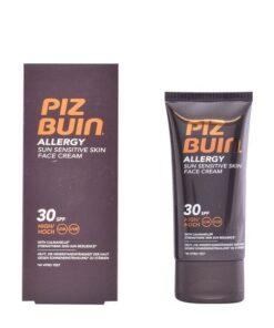 Protetor Solar Facial Allergy Piz Buin SPF 30 (50 ml)