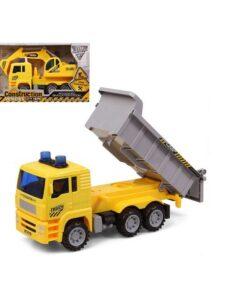 Camión Obras Públicas Leve Som Amarelo 119213