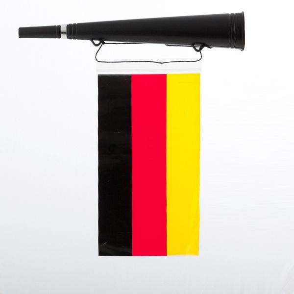Trompete com a Bandeira da Alemanha