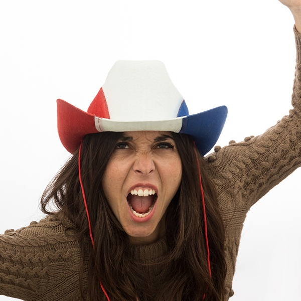 Chapéu de Cowboy Bandeira da França