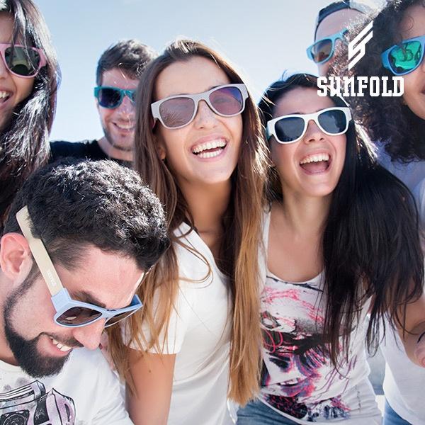 Óculos de sol enroláveis Sunfold ES4
