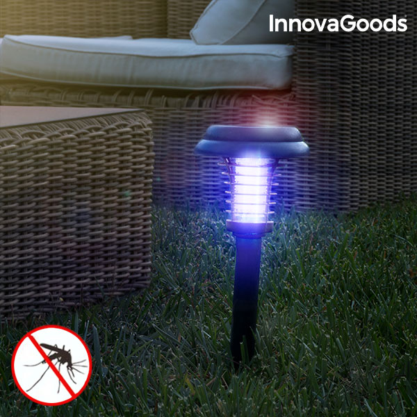 Lâmpada Solar Anti-Mosquitos para o Jardim SL-700 InnovaGoods