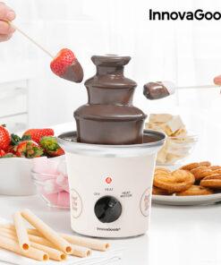 Fonte de Chocolate Sweet & Pop Times InnovaGoods 70W Branco Aço