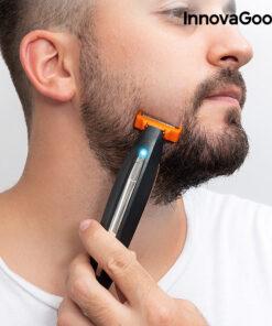 Máquina de Barbear Recarregável de Precisão 3 em 1 InnovaGoods