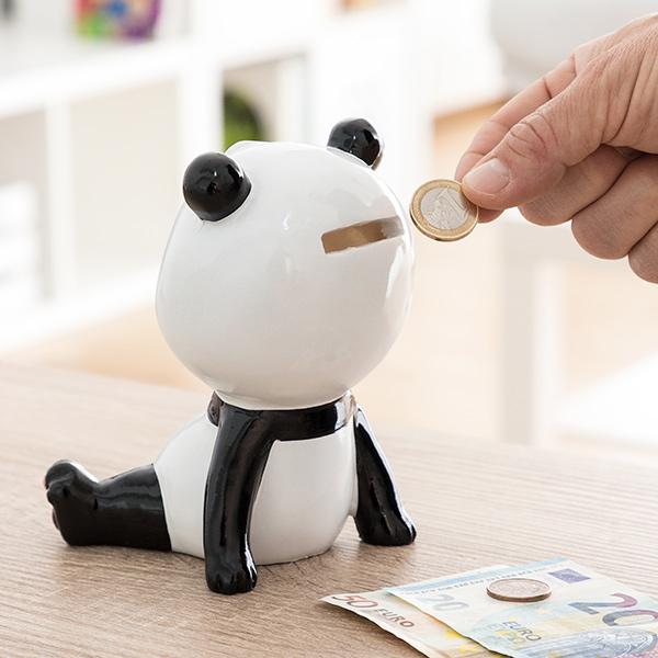 Mealheiro de Cerâmica Urso Panda