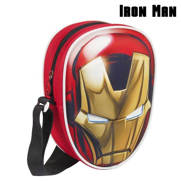 Mochila Pequena 3D Iron Man (Avengers)