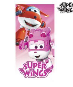 Toalha de Praia Rosa Super Wings