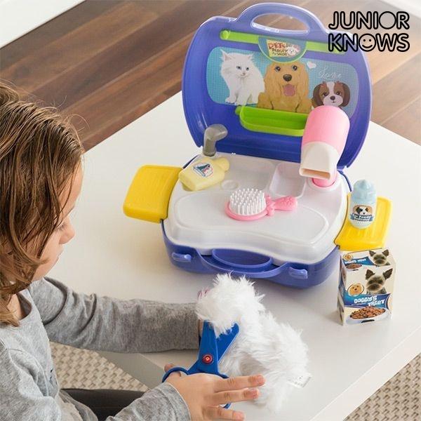 Jogo de Cabeleireiro de Animais de Estimação com Acessórios