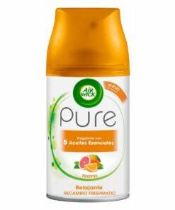 Recarga para Ambientador Air Wick FreshMatic Pure Relaxante Laranja 250 ml