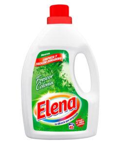 Detergente Líquido para Máquina de Lavar Elena Frescura Colónia (45 Doses)