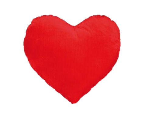 Coração Vermelho de Peluche 35 cm