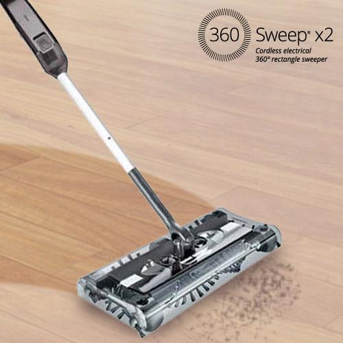 Esfregona Elétrica Retangular 360 Sweeper