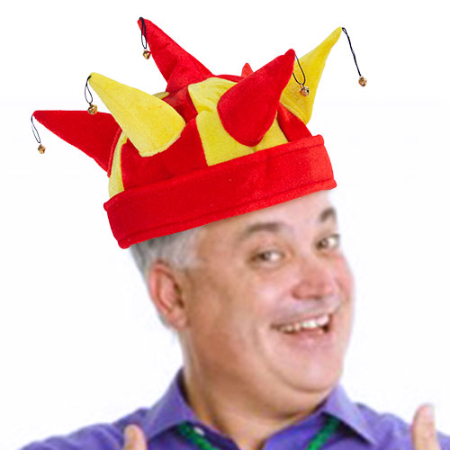 Chapéu de Bufão com 7 guizos Bandeira de Espanha