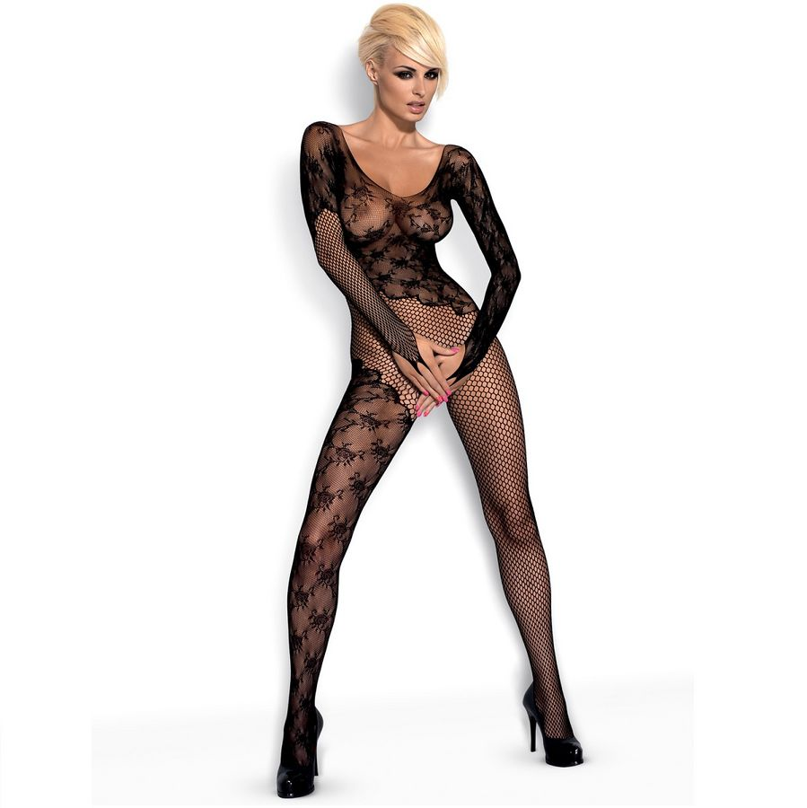 OBSESSIVE BODYSTOCKING BLACK F210 S / M / L