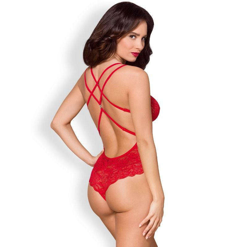 OBSESSIVO - 860-TED-3 TEDDY RED S / M