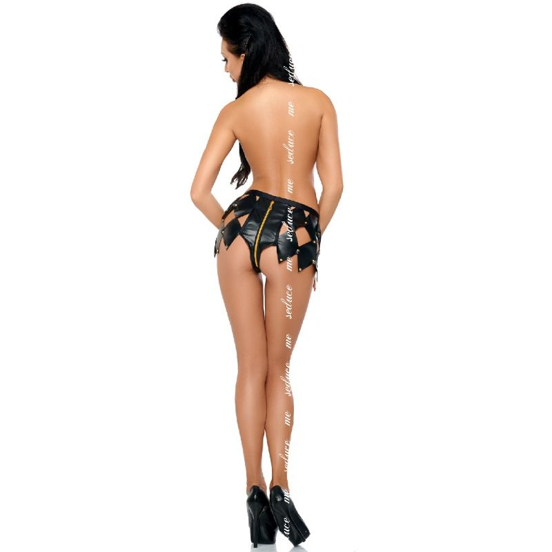 ME-SEDUCE GWEN SHORTS BLACK L / XL