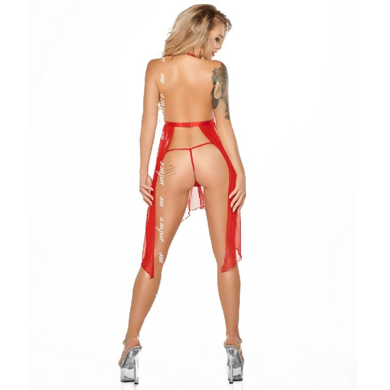 ME-SEDUCE LUCY CHEMISE RED L / XL