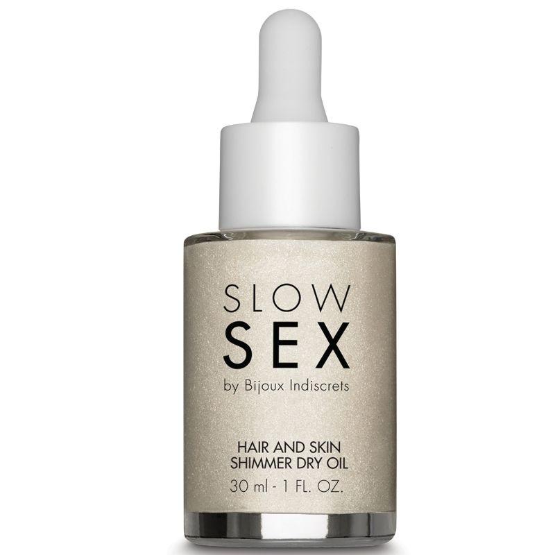 SLOW SEX PARA CABELO E PELE SHIMMER DRY OIL 30 ML