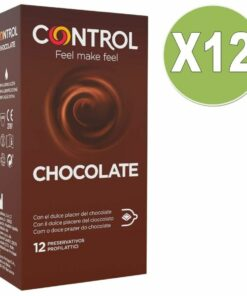 CONTROL ADAPTA CHOCOLATE 12 UNIT PACK 12