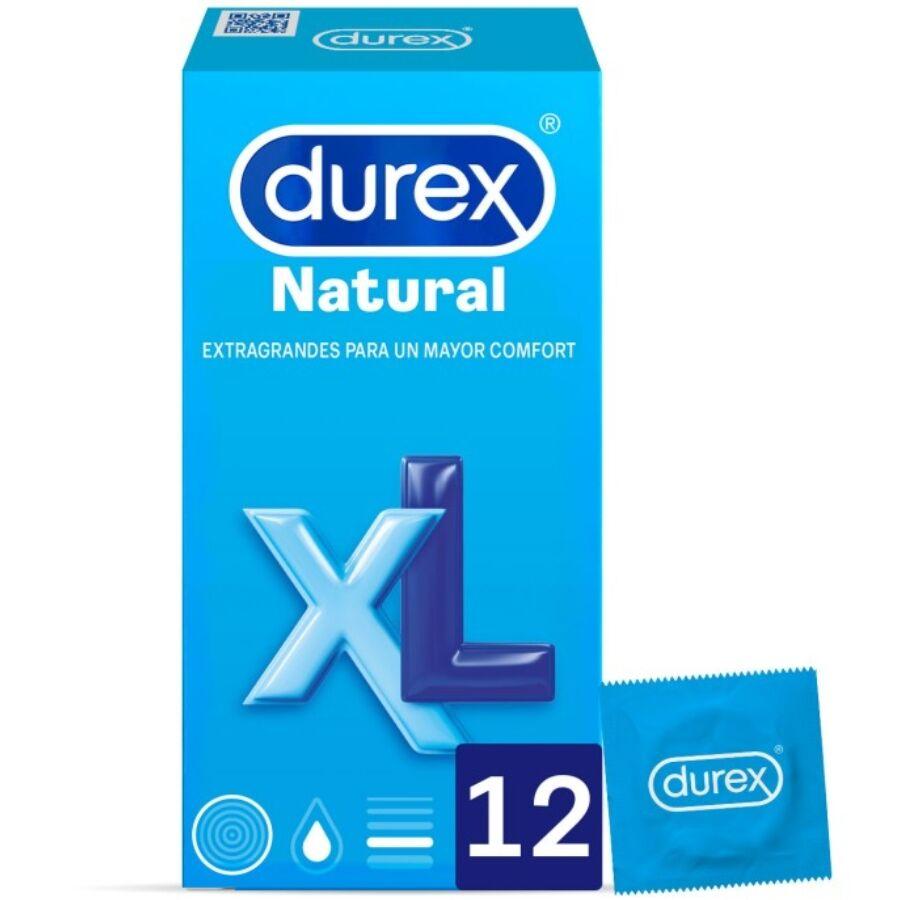 UNIDADES DUREX NATURAL XL 12
