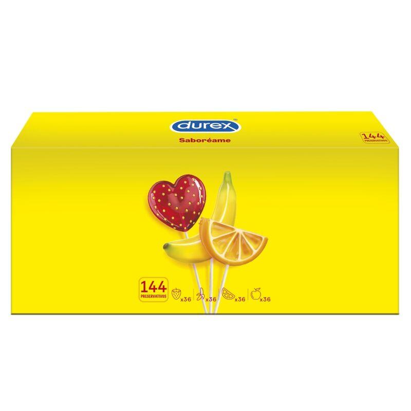 DUREX PLEASURE FRUITS 144 UNITS