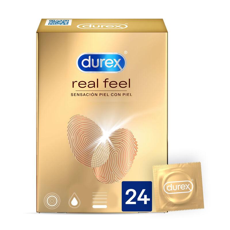 DUREX REAL FEEL 24 UNITS
