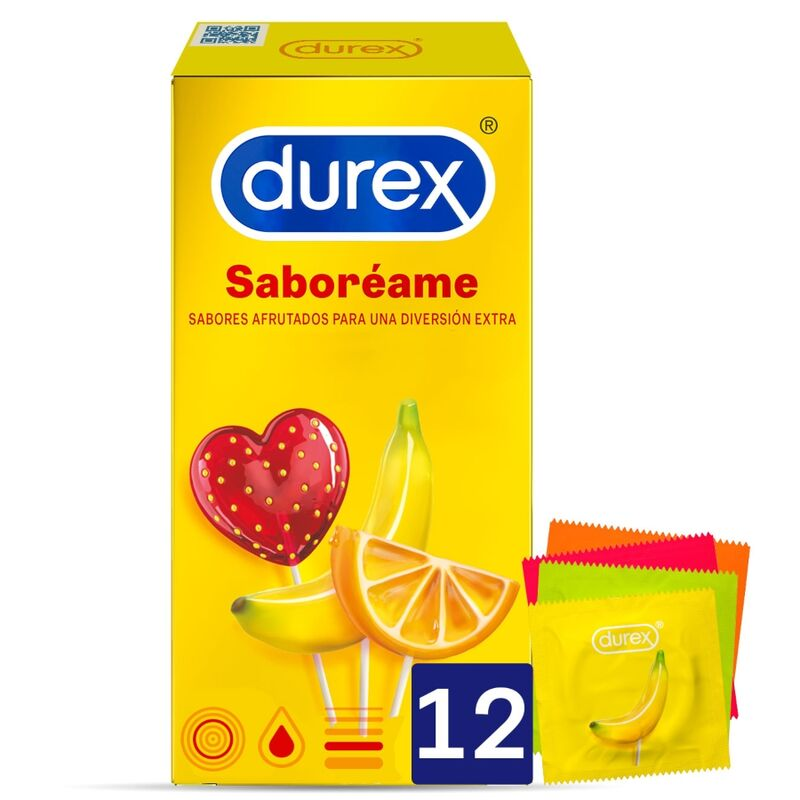 DUREX SABOREME 12 UNIDADES
